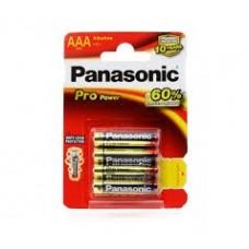 Baterijos Panasonic PRP Power LR03(AAA)4BP
