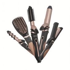 Palukų tiesinimo ir garbanojimo rinkinys Camry Hair Styler CR 2024