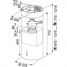 Filtrinės kavos aparatas Melitta EASYTOP 1023-04 BK