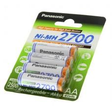 Įkraunamos baterijos Panasonic AA/HR6, 2450 mAh, Rechargeable Batteries Ni-MH