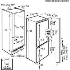 Įmontuojama mikrobangų krosnelė Electrolux LMS4253TMX