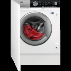 Įmontuojama skalbimo mašina-džiovyklė AEG L8WBE68SI
