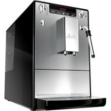 Kavos aparatas Melitta E953-102 Solo&Milk sidabro