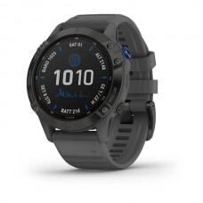 Laikrodis Garmin Fenix 6 PRO Solar Black/Slate
