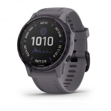 Laikrodis Garmin Fenix 6s PRO Solar Amethyst steel/Slate