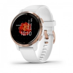Laikrodis Garmin Venu 2s Rose gold/White band