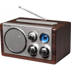 Medinė retro radija su USB Roadstar HRA-1345US/WD