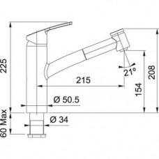 Nerūdijančio plieno puodas Maestro MR-3508-12