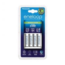 Baterijos Panasonic eneloop Advanced Battery Charger 1-4 AA/AAA, 4xAA 1900 mAh icl.
