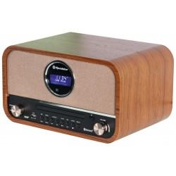 Retro radija su USB/SD/ BT Roadstar HRA-1782ND BK