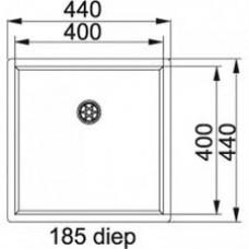 Šaldiklis Indesit UI6 F1T W