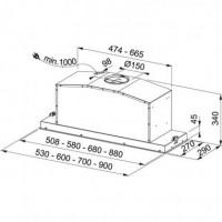 Šaldyklis INDESIT OS 1A 300 H