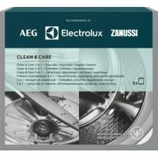 Valymo priemonių rinkinys 3 in 1 skalbyklėms ir indaplovėms M3GCP400 (6 vnt.)